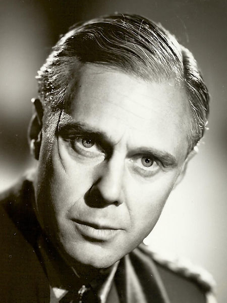 Marius Goring as Colonel Günther von Hohensee in So Little Time 1952