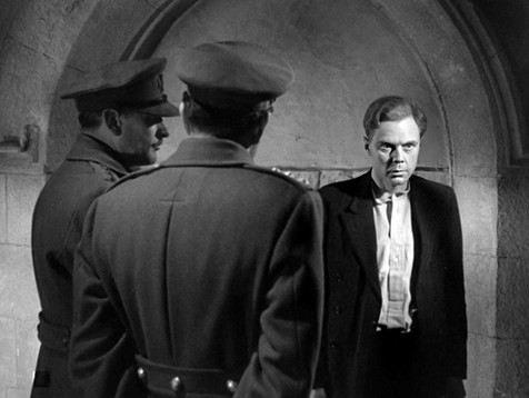 Marius Goring as Frederick Jannings in Night Boat to Dublin 1946