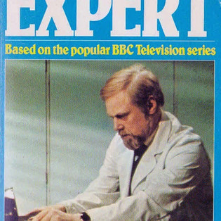 The cover of The Expert novel by Bernard Picton