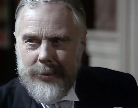 Marius Goring as King George V in Edward & Mrs Simpson 1979