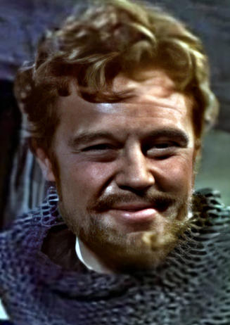 Marius Goring as the Earl of Chester