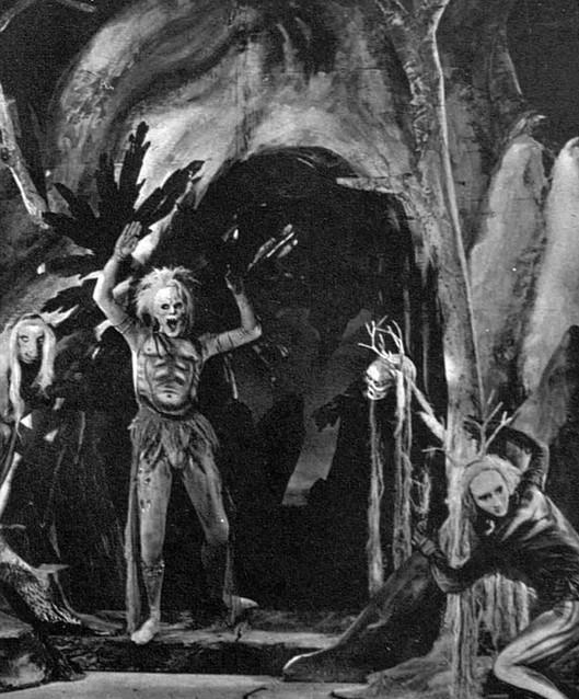 Marius Goring as Ariel in The Tempest 1940