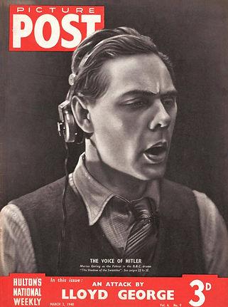 Marius Goring on Picture Post 1940