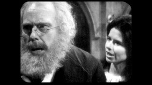 Marius Goring as Theodore Maxtible and Brigit Forsyth as Ruth Maxtible in Doctor Who Season 4 Episode 2 'The Evil of the Daleks'. Directed by Derek Martinus and written by David Whitaker and Sydney Newman. Broadcast 27 May 1967