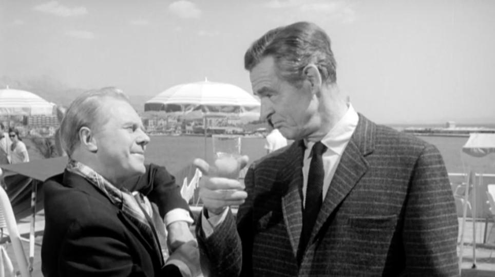 Marius Goring and Robert Ryan