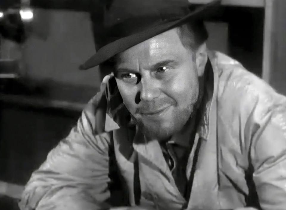 Marius Goring as Peter the Lett in Maigret Season 4 Episode 12 'Peter the Lett'. Broadcast 17 December 1963
