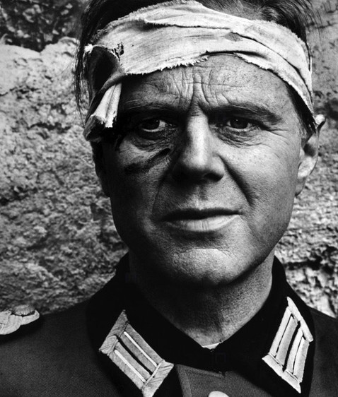 Marius Goring as the German Commandant in Up from the Beach 1965