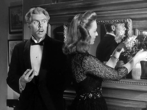 Marius Goring as Vincent Perrin and Greta Gynt as Isabel Lester in Mr Perrin and Mr Traill 1948