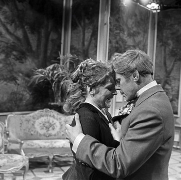 Maria Körber as Mabel Chiltern and Marius Goring as Lord Goring in Ein Idealer Gatte (An Ideal Husband) 1958