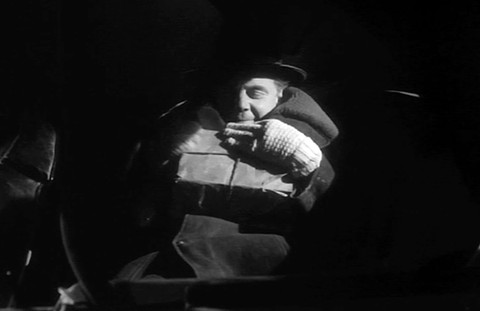 "Marius Goring as Rudi Siebert. ""My precious!"""