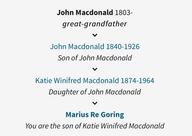 Macdonald Ancestry