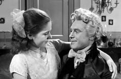 Gillian Ferguson as Elise and Marius Goring as Sir Percy Blakeney
