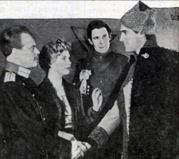Marius Goring as Alexis Turbin and Sarah Lawson as Helena Talberg in The White Guard 1960