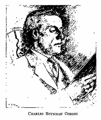 Charles Buckman Goring Sketch