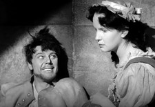 Marius Goring as Sir Percy Blakeney and Susan Lyall Grant as Ginette