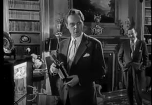 Marius Goring as Hiart and Frank Lawnton as Hassingham