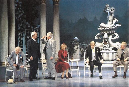Marius Goring in The Apple Cart 1985-86