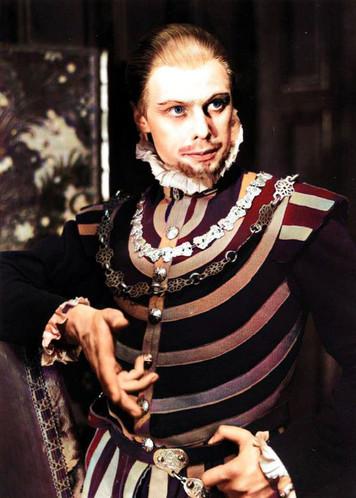 Marius Goring as Philip of Spain in Mary Tudor 1935-36