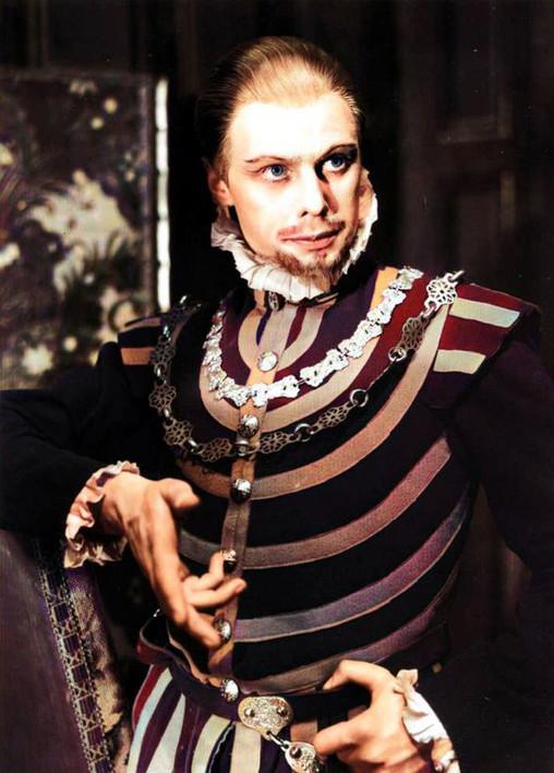 Marius as Philip of Spain in 'Mary Tudor' at the Sadler's Wells Theatre, London 1935-1936
