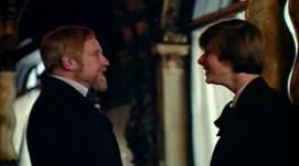 Marius Goring as Dr Lushin and John Moulder-Brown as Alexander