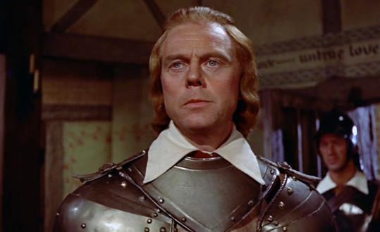 Marius Goring as Colonel Beaumont in The Moonraker