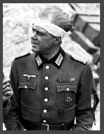 Marius Goring as the German Commandant