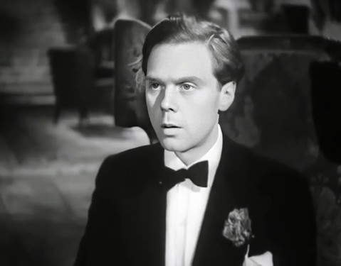 Marius Goring as Lord Lebanon in The Case of the Frightened Lady 1940