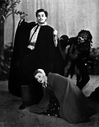 Marius Goring in The Witch of Edmonton at The Old Vic December 1936