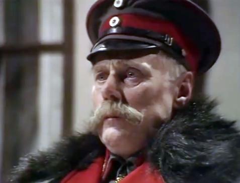 Marius Goring as Paul von Hindenburg in Fall of Eagles 1974