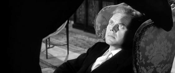 Marius Goring as Dr Henry Dysert in Rx Murder 1958
