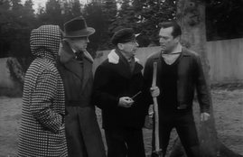 Dawn Addams, Marius Goring, Clive Dunn and Eddie Constantine