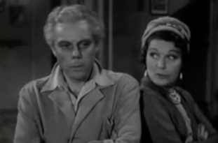 Marius Goring as Nicol Pascal and Lucie Mannheim as Nanette Pascal
