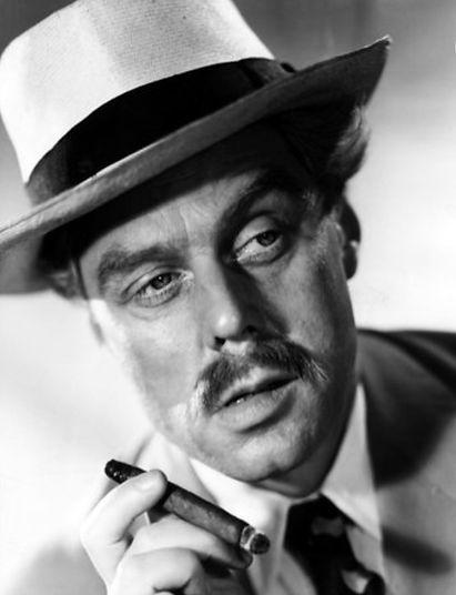 Marius Goring as Commandant Anton Razinski in Highly Dangerous 1950
