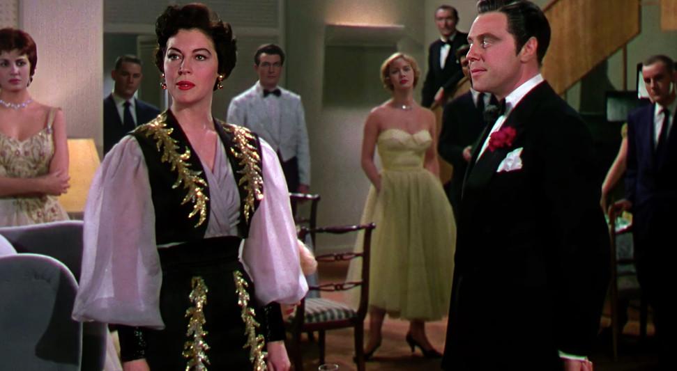 Ava Gardner as Maria Vargas and Marius Goring as Alberto Bravano