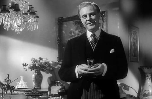 Marius Goring as Rudi Siebert in The Treasure of San Teresa 1959