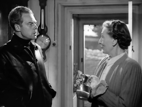 Marius Goring as Sholto Lewis and Majorie Fielding as Margaret McArran