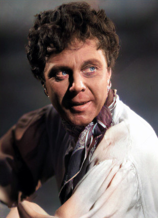 Marius Goring as Sir Percy Blakeney/The Scarlet Pimpernel in disguise as 'Marius Olivier' in Episode 18 'The Farmer's Boy'