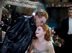 Marius Goring as Julian Craster and Moira Shearer as Victoria Page