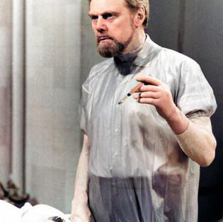 Marius Goring as Professor John Hardy in The Expert