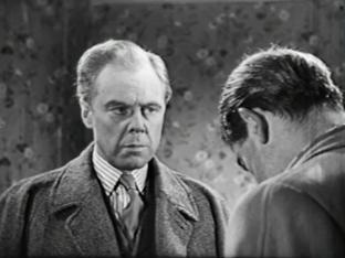 Marius Goring as Inspector Hazelrigg and Humphrey Lestocq as Sergeant Plummer