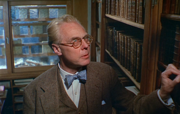 Marius Goring as Rebecca's Father in The Girl on a Motorcycle 1968