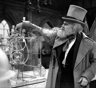 Marius Goring as Theodore Maxtible in Doctor Who Season 4 Episode 2 'The Evil of the Daleks'. Directed by Derek Martinus and written by David Whitaker and Sydney Newman. Broadcast 27 May 1967