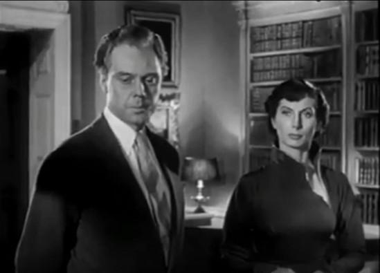 Marius Goring as Hiart and Patricia Laffen as Magda Hassingham