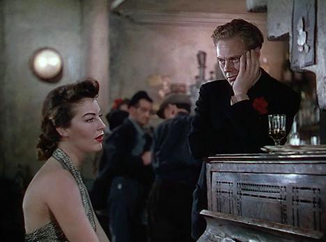 Ava Gardner & Marius Goring in Pandora and the Flying Dutchman 1951