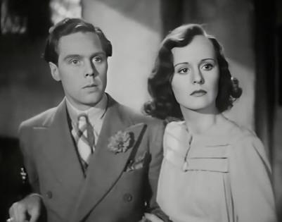Marius Goring as Lord Lebanon and Penelope Dudley Ward as Isla Crane