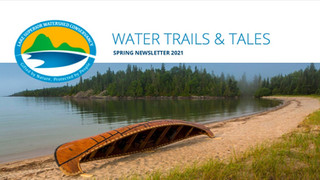 Water Trails & Tales: Spring Newsletter 2021