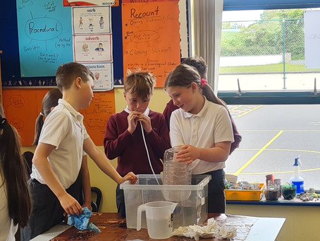 Lung Capacity Experiment