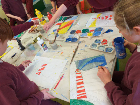 Paint & Colour in 5th & 6th Class