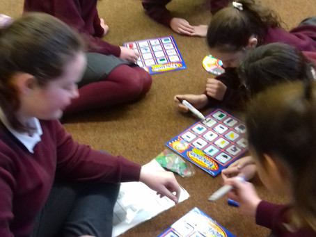 Enjoying maths games during Maths Week