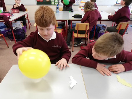 Static Electricity Fun with Paper Bats